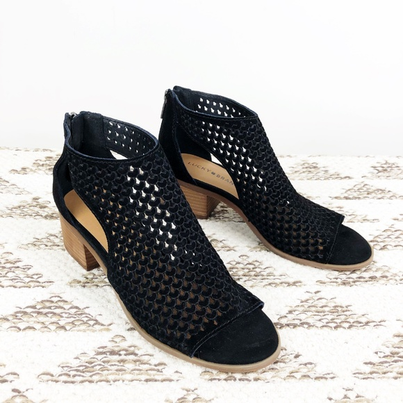 Lucky Brand Nacria Perforated Suede